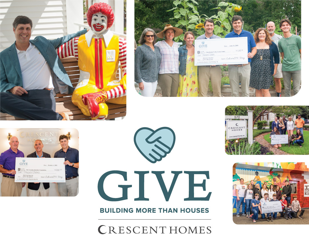 Crescent Homes Give - Building more than houses.